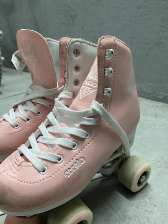 Patins de patinagem artística rosa DECATHLON - número 35