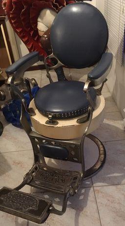 """Cadeira de barbeiro antiga marca """"ANFRA LISBOA"""""""