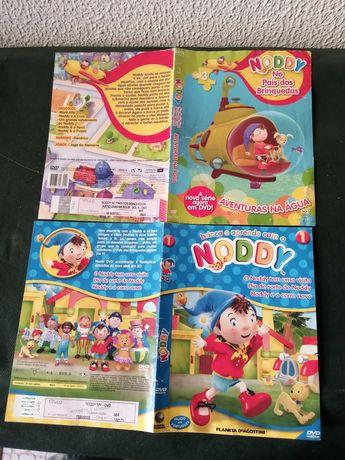 2 capas DVD originais Nody