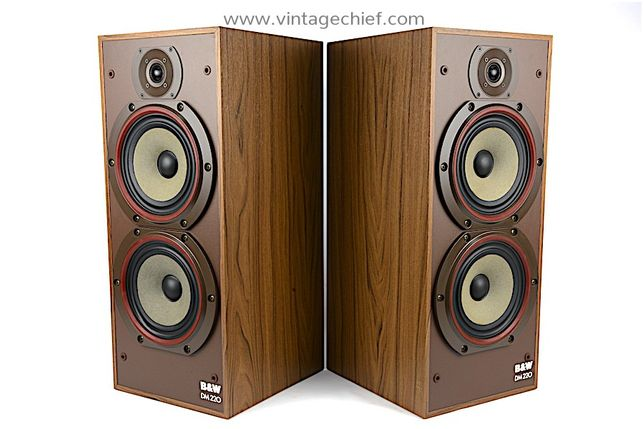 Kolumny B&W DM 220 Piękny Stan Super brzmienie Vintage