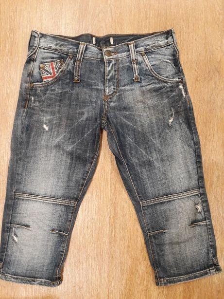 Капри, бриджи, шорты джинсовые 28 р-р