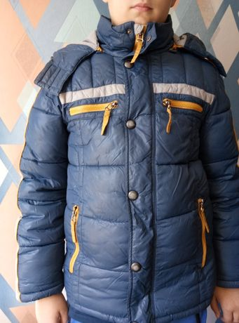 Зимняя куртка на мальчика, рост до 156