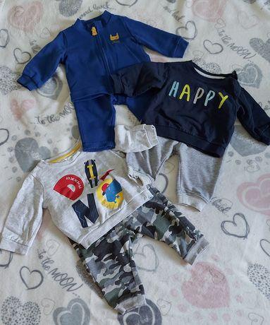 Komplet ubrania chłopiec 62 68