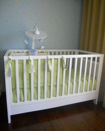 Conjunto para cama de grades