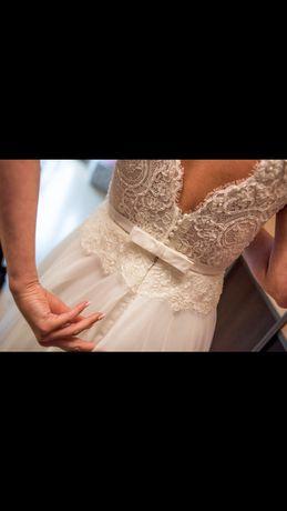 Suknia ślubna Margarett ALINA rozm.40