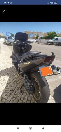 Yamaha Tmax 500.