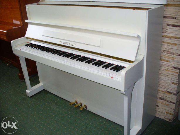 pianino TH.BETTING biale gwarancja