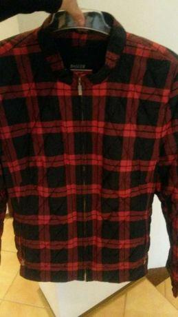 Kurteczka kurtka pikowana modna krata Xl przejściówka