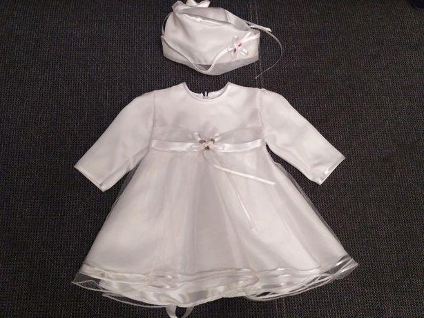 Ubranko do chrztu dziewczynka komplet wiosna r. 68