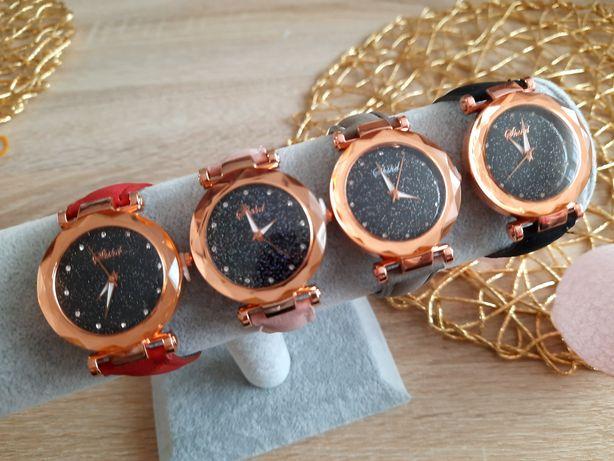 Nowy Zegarek damski brokatowa tarcza