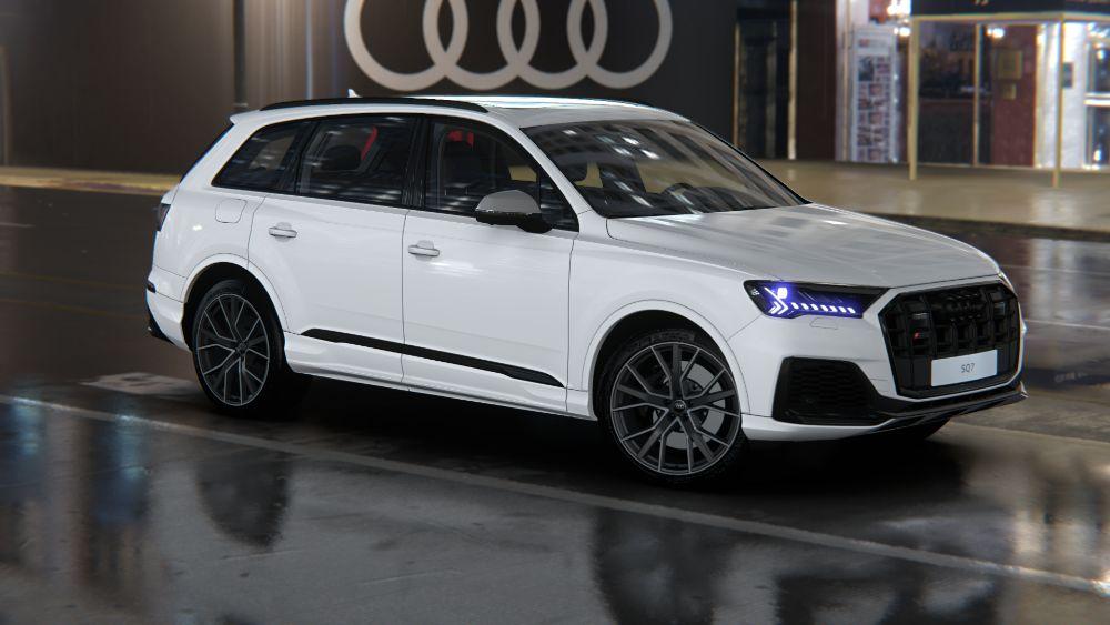 AUDI SQ7 TDI 435KM   Salon PL   VAT23%   Nowy   Od ręki ! Stock Audi Katowice - image 1
