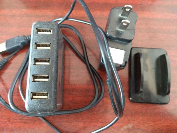 Активный USB хаб на 7 портов