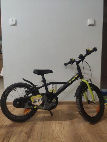 Rower rowerek dziecięcy 16 cali rower Dark Hero 500