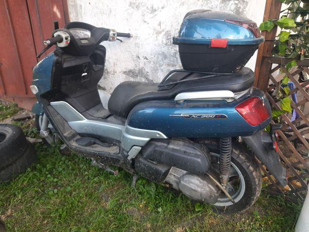 Скутер Yamaha Verciti 300.