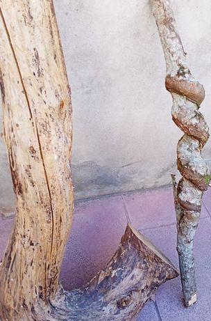 Madeira tronco bricolage