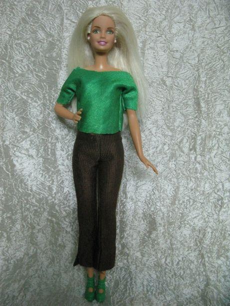 Лялька Барбі, кукла Барби в штанах та кофті