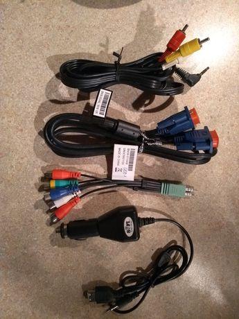 Zestaw kabli ładowarki przejściówki