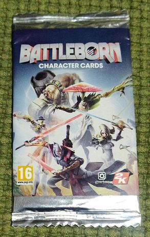 Battleborn character cards - booster - Nowy