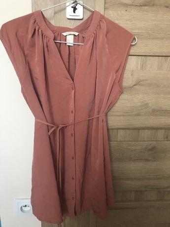 Tunika bluzka ciążowa H&M Mama rozmiar S koralowa