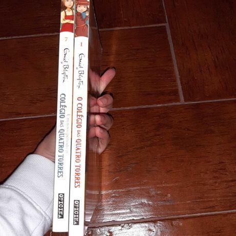 Livros O Colégio das quatro torres