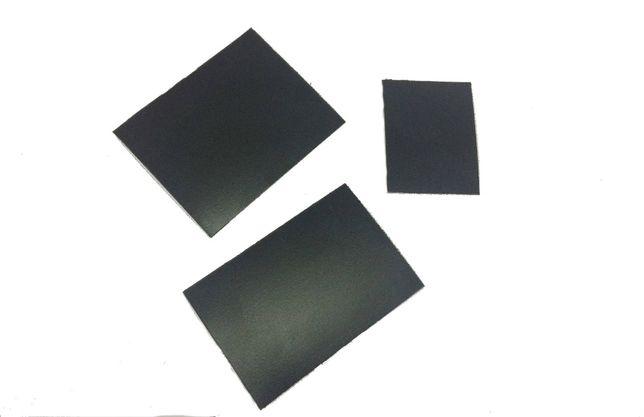 Меловые ценники 100 штук 6 см х 8 см двухсторонние. Чорні цінники