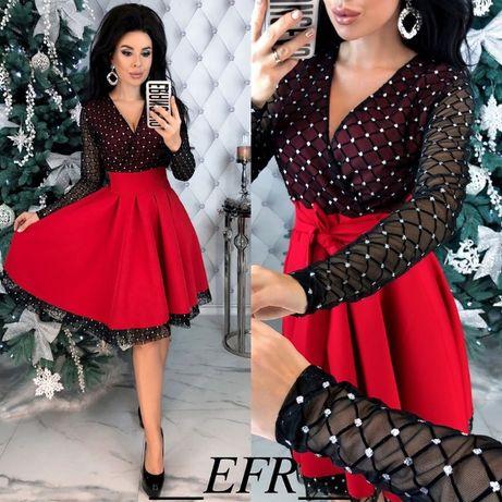 платье плаття сукня стрей сетка бархат вечерняя нарядная на новый год