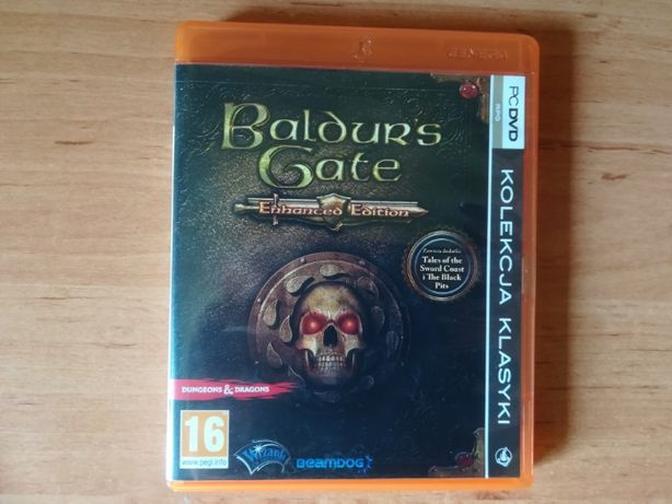 Gra PC Baldurs Gate Enhanced Edition plus nowe dodatki