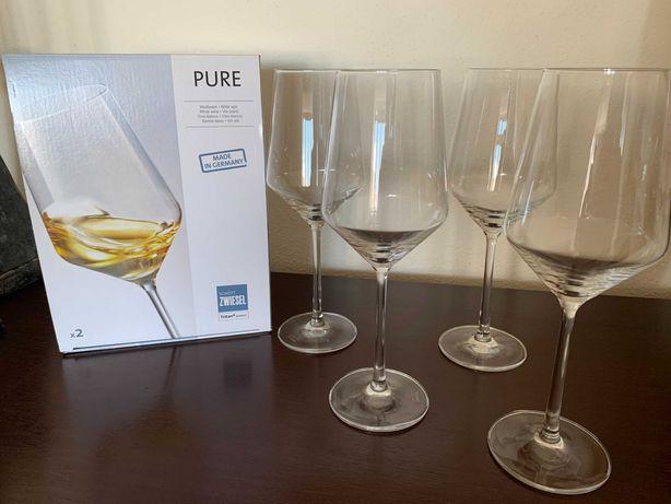 Conjunto de 4 copos de vinho branco Schott Zwiesel Coleção Continente