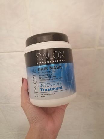 Маска для поврежденных волос Salon Professional Spa Care Treatment