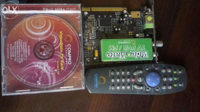 Продам TV / FM тюнер для ПК Compro VideoMate,версия 2.13Р