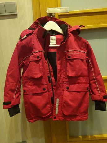 Zimowa kurtka dla  chłopca roz 116cm jak nowa