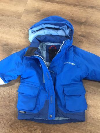 Kurtka narciarka narciarska na zime 86 kombinezon spodnie didirkson