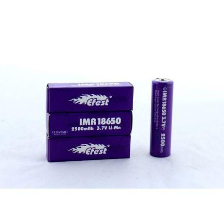 Аккумулятор Efest 3.7V 18650 2500 mah батарейка