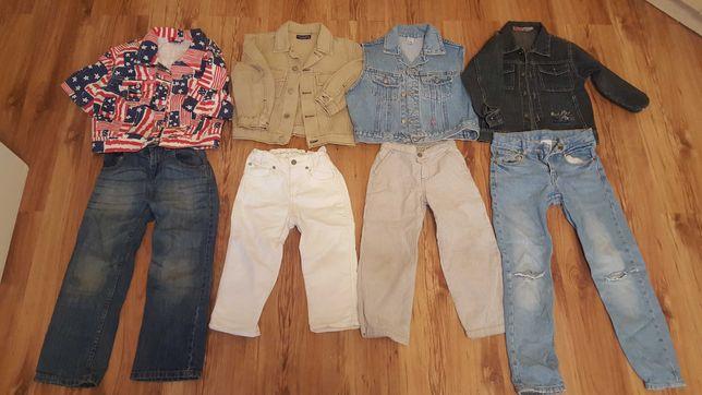 Ubrania chlopiece calosc