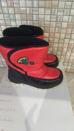 Сапожки,на овчине,ботинки,обувь,зимние,термо,дутики