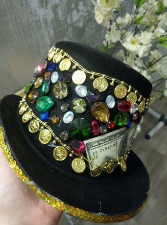 Карнавальная шляпа. цилиндр для фотосессий и тематических вечеринок