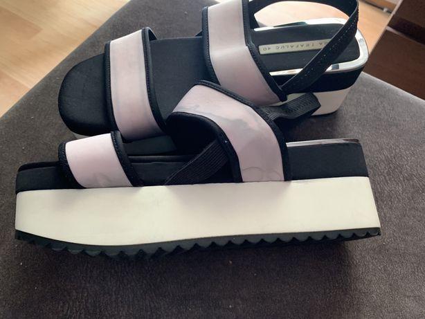 Sandały Zara na platformie, rozmiar 40