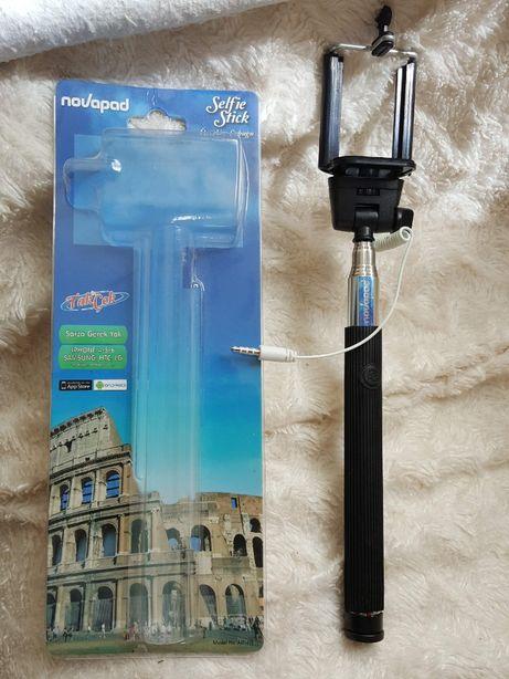 Селфи-монопод Novapad с кабелем Black