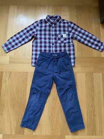 Koszulka ze spodniami 110 cm
