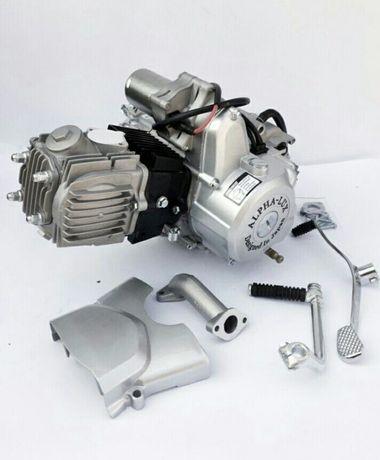 Двигатель 72,110,125,150 куб, мотор на мопед альфа дельта,двигун 110