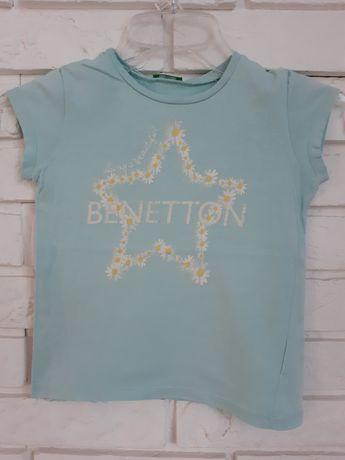Bluzka t-shirt Benetton 116