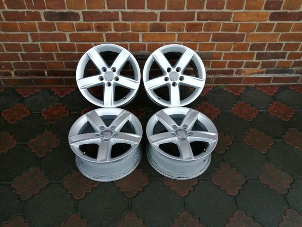 16 cali Oryginalne felgi 5x112 Audi VW Audi A4 B8 A6 Seat Mercedes