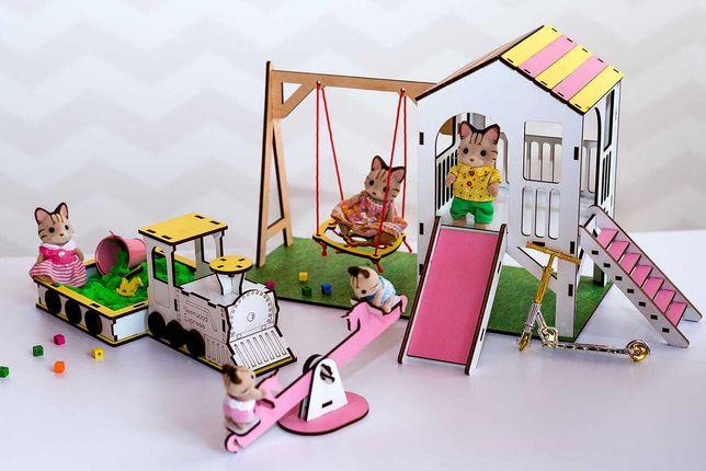 Лялькові меблі будинок Лол мебель для кукол LOL домик Детская площадка