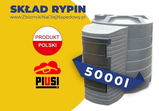 Skład Rypin - Zbiornik 5000L na olej napędowy, paliwo dwupłaszczowy