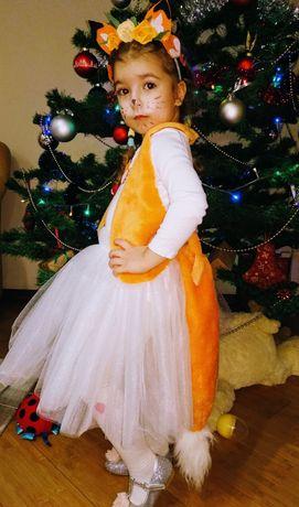 Новогодний костюм Лисички Лисы Лиси Лиски