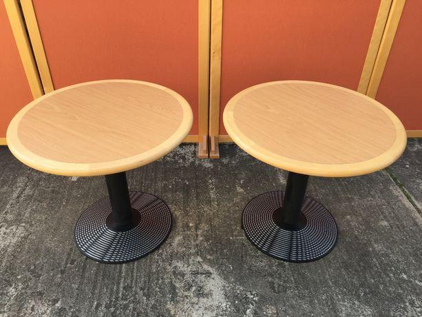 Stół drewniany okrągły stół kawowy stół do jadalni