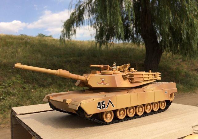 Танк М1А2 Abrams на батарейках. 1:32