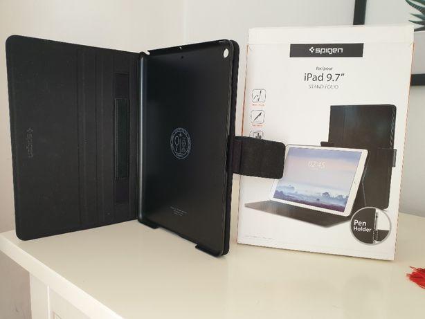 """Etui do iPad 9.7"""" skóra ekologiczna Spigen"""