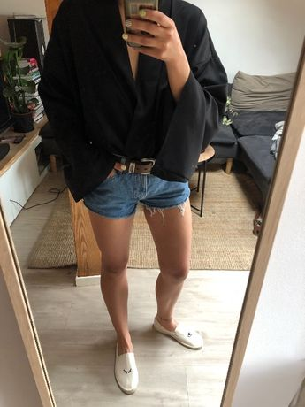 Koszula kimono boho czarne