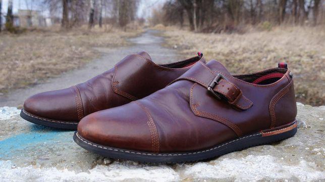 Шкіряні туфлі Timberland Brook Park Monk Strap